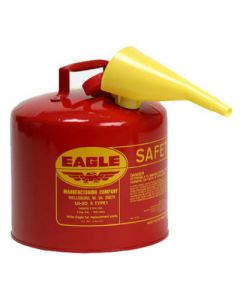 5 Gal. Red Flammables Safety Can - 48441221813