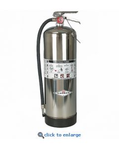 Amerex Corp 2.5 gallon pressurized water can fire extinguisher - 100