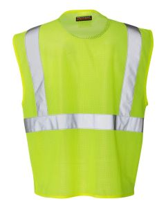 Lime Clear ID Vest