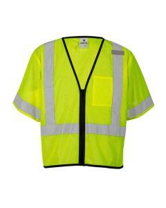 Economy Single Pocket Zipper Vest