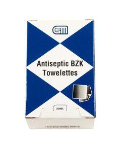 Antiseptic BZK Towelettes