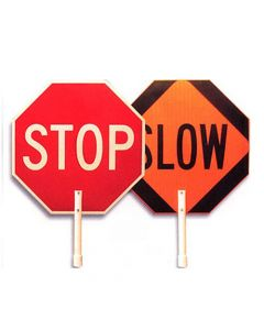 """24"""" Stop/Slow Paddle"""