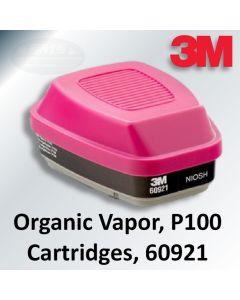 3M™ Organic Vapor Cartridge/Filter P100
