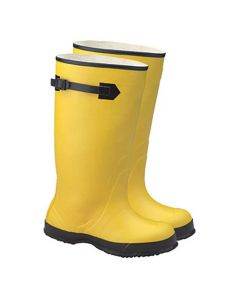 Yellow Rubber Over-The-Shoe-Boot