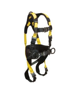 Journeyman FLEX Aluminum Harness with 3 D-rings, Back and Side; Quick Connect Legs and Chest