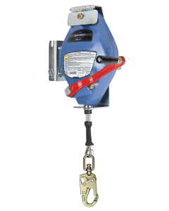 60' 3-way SRL-R Galv Cable with Davit Arm Bracket and Storage Bag - Confined Space/Rescue:7281DG