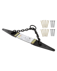 FallTech Reusable Roof Chain Anchor Durable Powder Coated Steel Anchor - Anchors:7493A