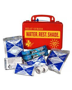 Certified Safety First Aid Kit, Heat Stress Responder Standard, Poly-R - 767000000000