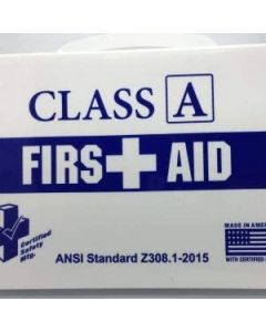 Certified Safety First Aid Kit, Plastic, Class A (Vehicle) - K615-011 - 766588150116