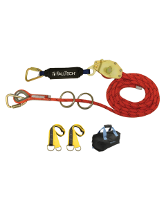 30' Temp HLL Kit 2-person Kernmantle w/Energy Absorber - 77302K