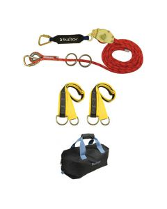 2-Person 60' Kernmantle Rope HLL with Energy Absorber