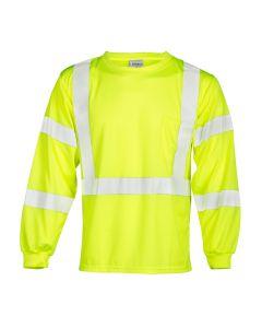 Long Sleeve Class 3 T-Shirt -L - 9145-L