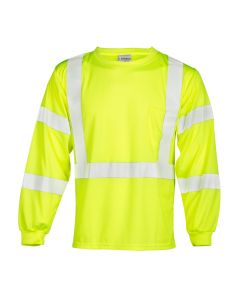 """Long Sleeve T-Shirt, 2"""" wide high performance reflective material, lef - 9145-2XL"""