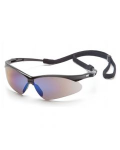 PMXtreme Blue Mirror Safety Glasses