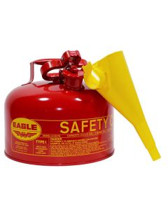 2.5 Gal. Red Flammable Safety Can