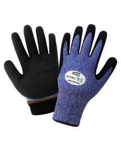 Samurai Glove® - Insulated Water Repellent Dipped Gloves-L (L) - CR317INT-L