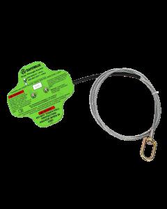 SAFEWAZE, 2 FT DROP-THROUGH CABLE ANCHOR , 5K OVERHEAD ANCHOR - 020-4020