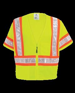 FrogWear HV - High-Visibility Lightweight Mesh Safety LED Vest