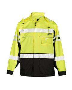 ML Kishigo Hi-Vis Premium Black Series 2 in 1 Waterproof Jacket