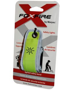 FOXFIRE Green Lighted Safety Band