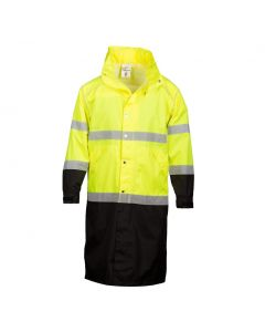 ML Kishigo Long Hi-Vis Rain Coat