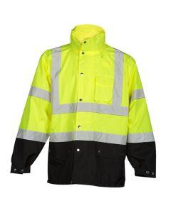 ML Kishigo Hi-Vis Storm Cover Rainwear Jacket
